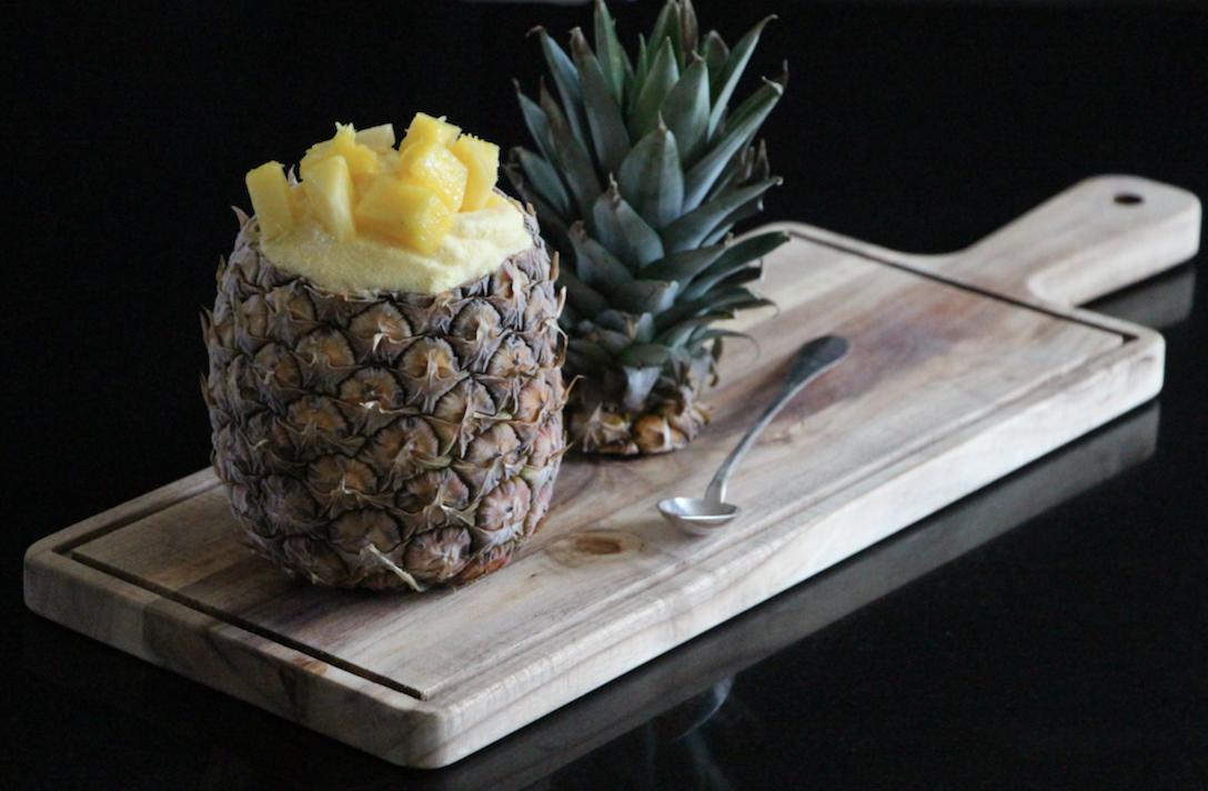 pineapple sorbet casserole chocolat. Black Bedroom Furniture Sets. Home Design Ideas