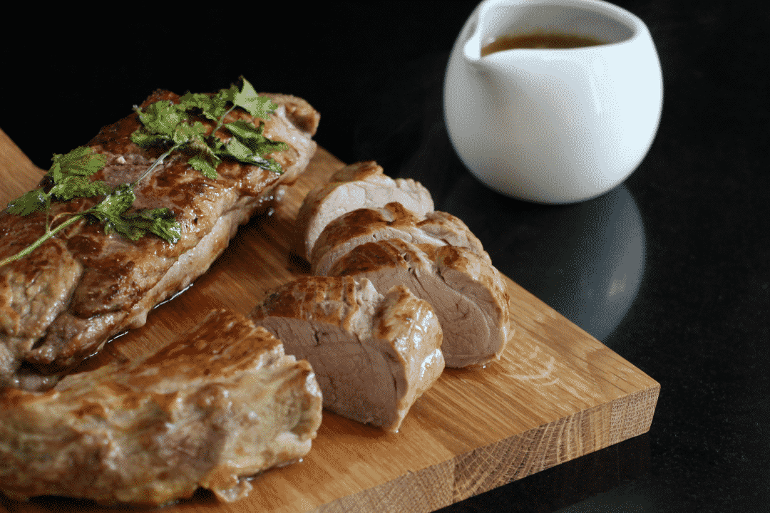 Honey And Coriander Pork Filet Mignon